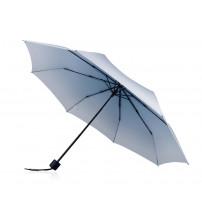 Зонт складной 'Shirley' механический 21,5', белый/синий