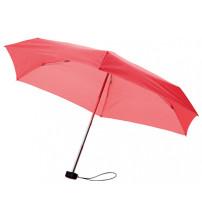 Зонт складной 'Stella', механический 18', красный