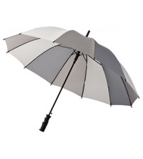 Зонт трость 'Trias', полуавтомат 23,5', серый