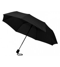 Зонт складной 'Sir', полуавтомат 21', черный