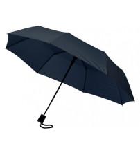 Зонт складной 'Sir', полуавтомат 21', темно-синий