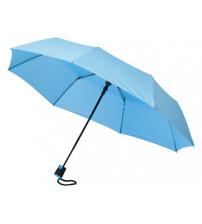Зонт складной 'Sir', полуавтомат 21', голубой