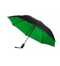 Зонт 'Spark' двухсекционный, 21', зеленый