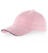 Бейсболка 'Challenge' 6-ти панельная, розовый/темно-синий