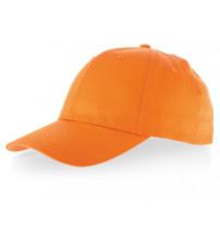 Бейсболка 'Detroit' 6-ти панельная, оранжевый