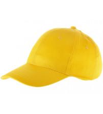 Бейсболка 'Detroit' 6-ти панельная, желтый