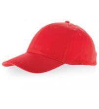 Бейсболка 'Detroit' 6-ти панельная, красный