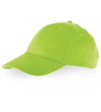 Бейсболка 'Detroit' 6-ти панельная, зеленое яблоко