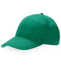 Бейсболка 'Detroit' 6-ти панельная, зеленый