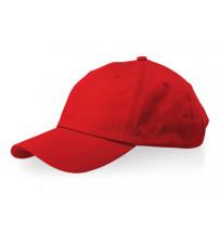 Бейсболка 'Apex' 6-ти панельная, красный