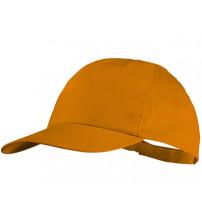 Бейсболка 'Basic', 5-ти панельная, оранжевый