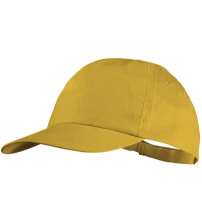 Бейсболка 'Basic', 5-ти панельная, желтый