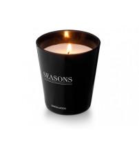 Арома свеча 'Lunar' от Seasons, черный