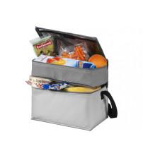 Сумка-холодильник 'Trias' с двумя отделениями, серый