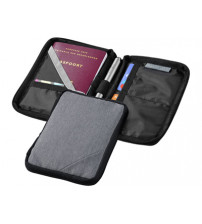Бумажник для паспорта 'Navigator', серый
