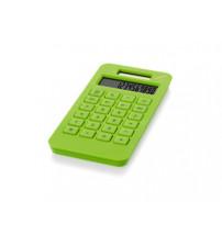 Калькулятор на солнечной батарее 'Summa', зеленое яблоко