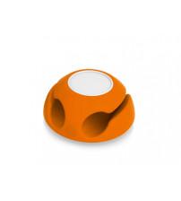 Подставка для кабеля 'Clippi', оранжевый