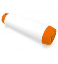 Держатель для кабеля 'Тwisti', оранжевый/белый
