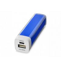 Портативное зарядное устройство 'Flash' 2200 мА/ч, ярко-синий