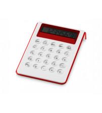 Калькулятор настольный 'Soundz', красный