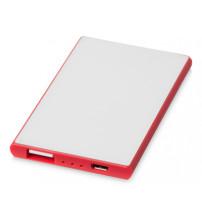 Портативное зарядное устройство 'Slim Credit Card', красный