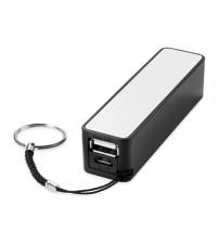 Портативное зарядное устройство 'Jive', черный/белый
