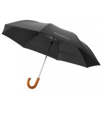 Зонт складной 'Jehan', полуавтомат 23', черный