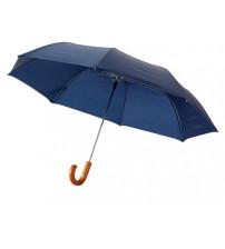 Зонт складной 'Jehan', полуавтомат 23', синий