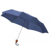 Зонт складной 'Oliviero', механический 21,5', синий