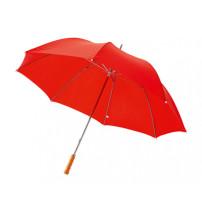 Зонт трость для гольфа, механический 30', красный