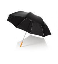 Зонт трость для гольфа, механический 30', черный