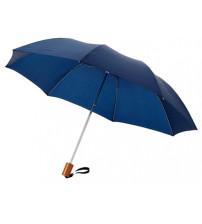 Зонт складной 'Nicea', механический 20', синий