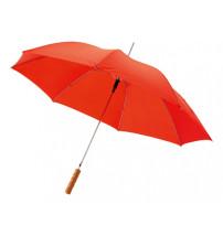 Зонт трость 'Scenic', полуавтомат 23', красный