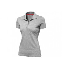 Рубашка поло 'Advantage' женская, серый меланж