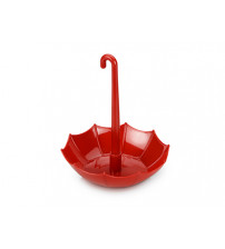 Подставка под канцелярские принадлежности 'Зонтик', красный