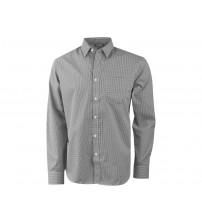 Рубашка 'Net' мужская с длинным рукавом, серый