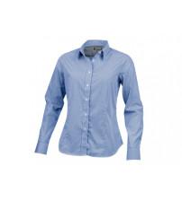Рубашка 'Net' женская с длинным рукавом, синий
