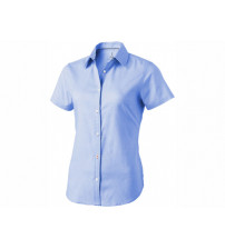 Рубашка 'Manitoba' женская с коротким рукавом, голубой