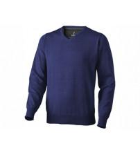 Пуловер 'Spruce' мужской с V-образным вырезом, темно-синий