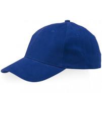 Бейсболка 'Bryson', 6 панелей, синий