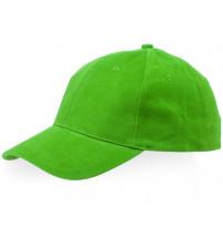 Бейсболка 'Bryson', 6 панелей, зеленое яблоко