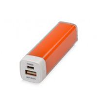 Портативное зарядное устройство 'Ангра', 2200 mAh, оранжевый