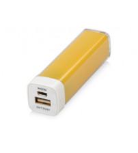 Портативное зарядное устройство 'Ангра', 2200 mAh, желтый