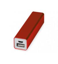 Портативное зарядное устройство 'Брадуэлл', 2200 mAh, красный