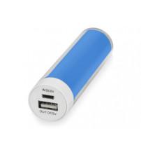 Портативное зарядное устройство 'Ангра', 2200 mAh, голубой