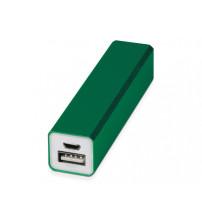 Портативное зарядное устройство 'Брадуэлл', 2200 mAh, зеленый