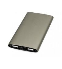Портативное зарядное устройство 'Мун' с 2-мя USB-портами, 4400 mAh, бронзовый