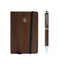 Набор подарочный 'Larbey': записная книжка, ручка шариковая