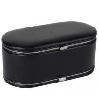Шкатулка для драгоценностей с маникюрным набором, черный