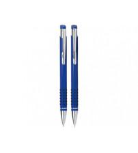 Набор «Онтарио»:ручка шариковая,карандаш в футляре синий